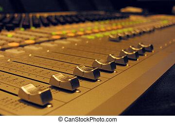 groot, audio, -, mixer