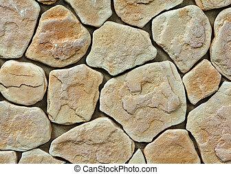 groot, muur, steentextuur