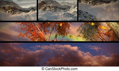 groot, natuur, goed, reizen, thema's, avontuur, weer, samenstelling, outdoors., hemelen, toerisme, seizoenen