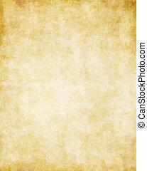 groot, oud, textuur, papier, achtergrond, perkament