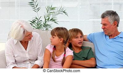 grootouders, kleinkinderen, cha