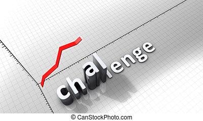 """""""growing, challenge."""", tabel, grafisch, animatie"""