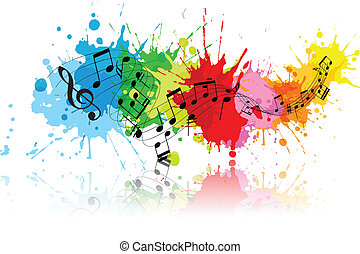 grunge, abstract, muziek