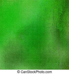 grunge, bevlekte, groene achtergrond, textured, fris