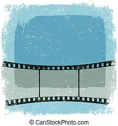 grunge, eps10, vector, strook, poster., film