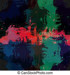 grunge, kleurrijke, achtergrond