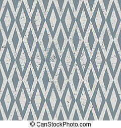 grunge, ouderwetse , pattern., seamless, ruit, textured