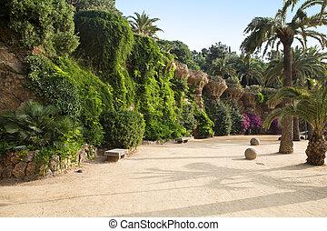 guell, park, barcelona