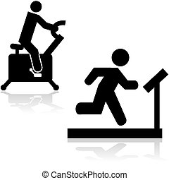 gym, iconen