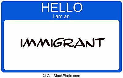 hallo, immigrant