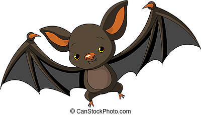 halloween, vliegen, vleermuis