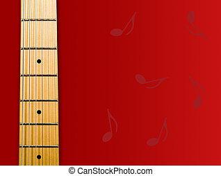 hals, guitar's