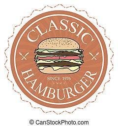 hamburger, classieke