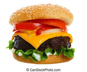 hamburger, sappig