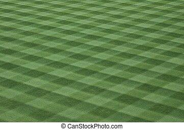 handeel gras af, honkbal, kunstgras