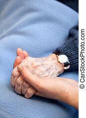 handen, oud