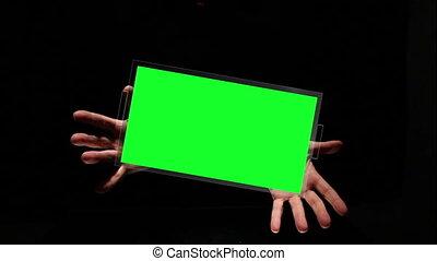 hands handgeklap, kopie, het voorstellen