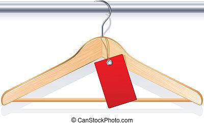 hanger, kleding