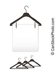 hangers, kleren