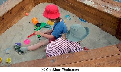 hark, op kamers, tijd, zand, jongen, uitgeven, zuster