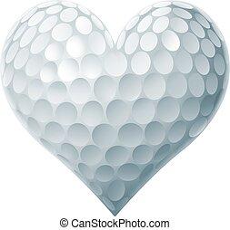 hart, bal, golf
