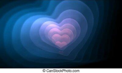 hart, blauwe , day.1080p, valentijn, fractal, goed, roze