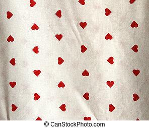 hart gedaante, weefsels, rood