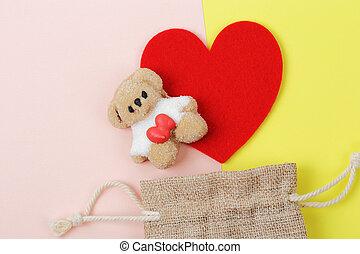 hart, heemst, beer, rood