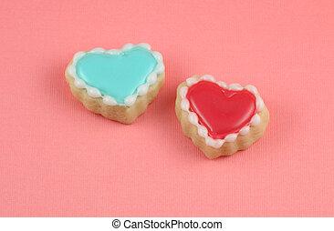 hart, koekjes