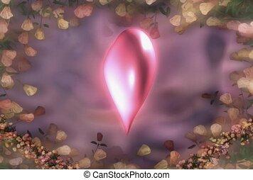 hart, romaans, liefde