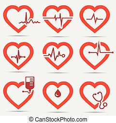 hart, set, pictogram