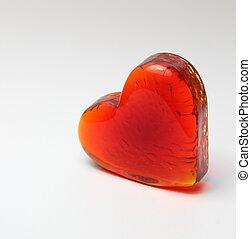 hart, tekst, jouw, plek, rood
