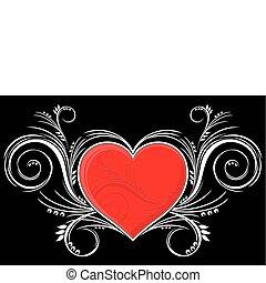 hart, versieringen