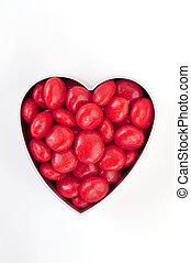 hart, verticaal, versuikeren, hard, rood