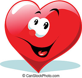 hart, vrolijke