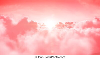hd., animation., looped, heaven., 3d