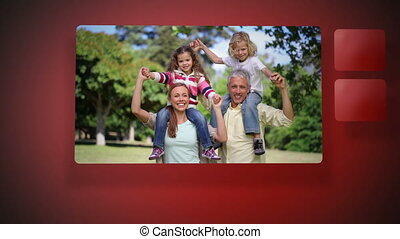 hebben, video's, plezier, gezin