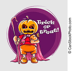 hefboom-o-lantaarn, halloween, karakter, kostuum