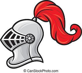 helm, ridder, middeleeuws
