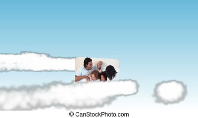 hemel, video's, gezin