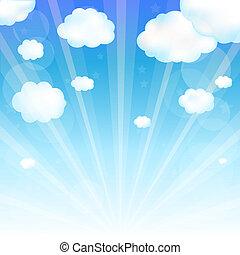 hemel wolk