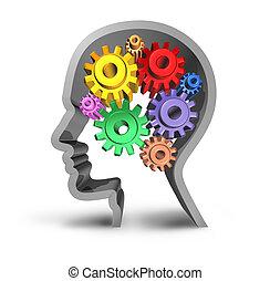 hersenen, menselijk, activiteit