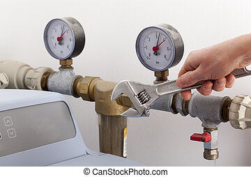 herstelling, water, softener
