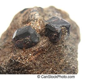 hesonite, (garnet, mineral), natuurlijke