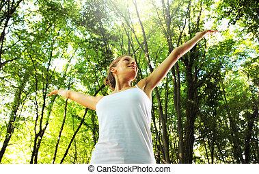 het genieten van, natuur