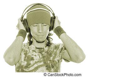het genieten van, zijn, muziek