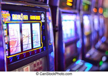 het gokken verslaving, machines, gleuf, las vegas, las