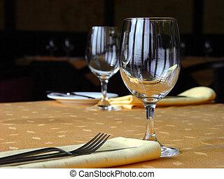 het leggen, restaurant