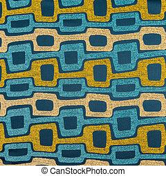het patroon van de stof, materiaal, textuur, textiel, achtergrond