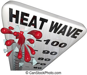 hittegolf, temperaturen, thermometer